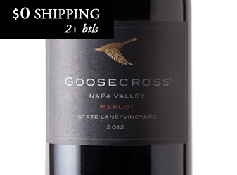 2012 Goosecross Estate Merlot