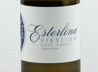 2012 Esterlina Dry Riesling
