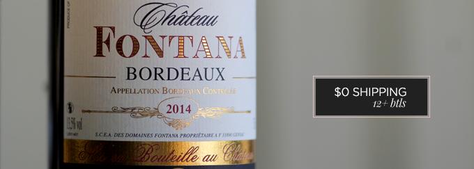 2014 Château Fontana Bordeaux