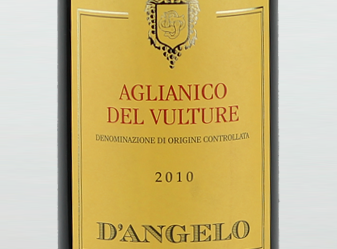 2010 D'Angelo Aglianico del Vulture