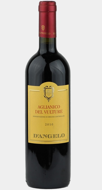 2010 D'Angelo Aglianico del Vulture