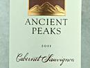 2011 Ancient Peaks Cabernet Sauvignon
