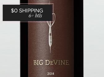 2014 Big DeVine Cabernet Sauvignon