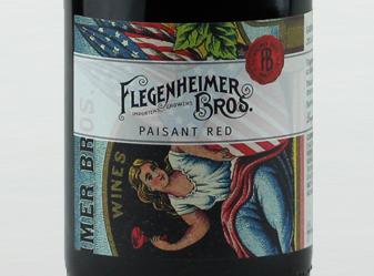 2014 Flegenheimer Bros Paisant Red