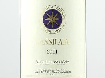 2011 Sassicaia Super Tuscan Magnum