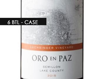 2015 Oro En Paz Semillon (6-btl Case)