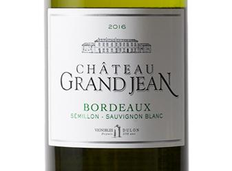 2016 Château Grand Jean Blanc