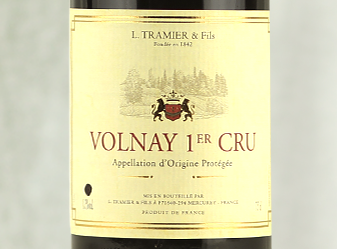 2010 Maison Tramier Volnay 1er Cru