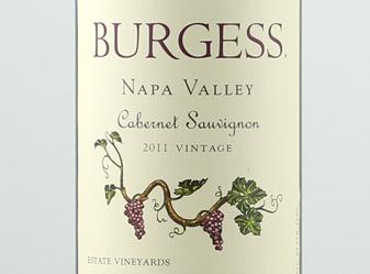 2011 Burgess Cabernet Sauvignon