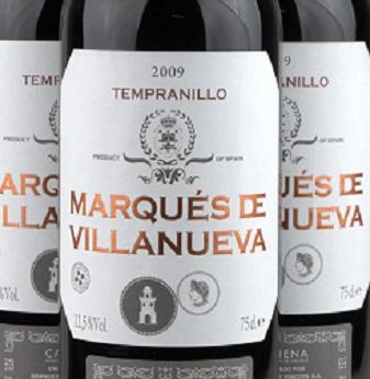 2009 Marques Villanueva Tempranillo