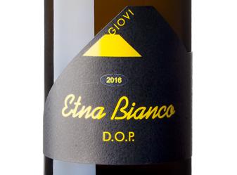 2016 Giovi Etna Bianco DOC