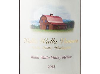2015 Walla Walla Vintners Merlot