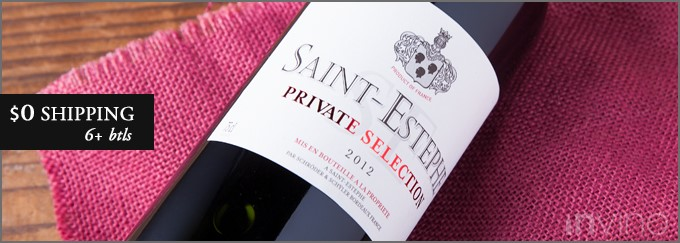 2012 Private Selection Saint-Estephe