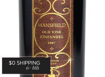 2007 Mansfield Old Vine Zinfandel