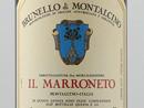 2001 Il Marroneto Brunello