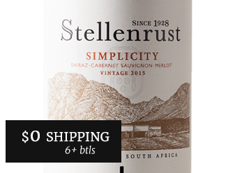 2015 Stellenrust 'Simplicity' Red