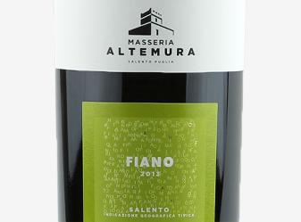 2013 Masseria Altemura Fiano