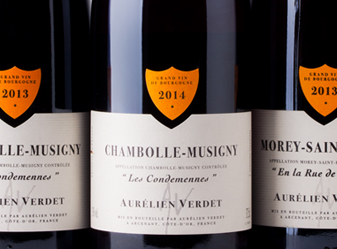 Burgundy 375 mL 3Pk: Aurelian Verdet