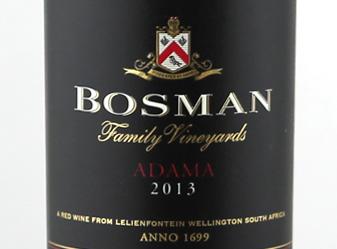 2013 Bosman Adama Red Blend