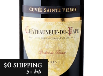 2015 Cellier d' Princes Sainte Vierge