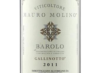 2011 Mauro Molino Barolo 'Gallinotto'