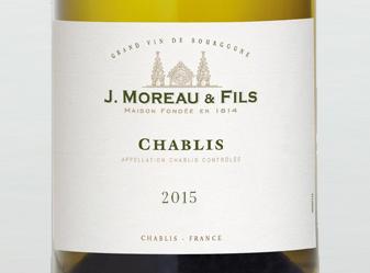 2015 J. Moreau & Fils Chablis
