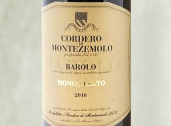 2010 Cordero di Montezemolo Barolo