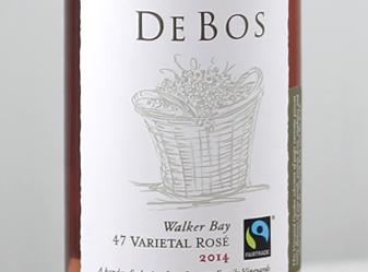 2015 De Bos 47 Varietal Rose