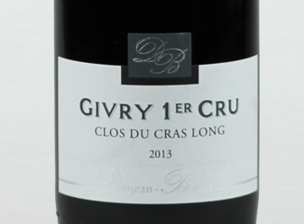 2013 Danjean Berthoux Givry Rouge