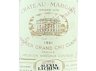 1961 Chateau Margaux