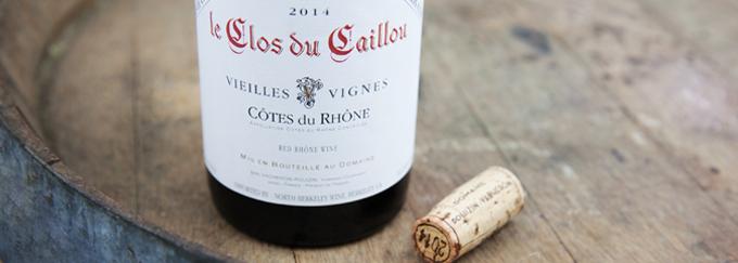 2014 Clos du Caillou Cotes du Rhone