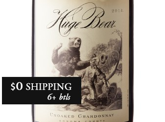 2014 Huge Bear Unoaked Chardonnay
