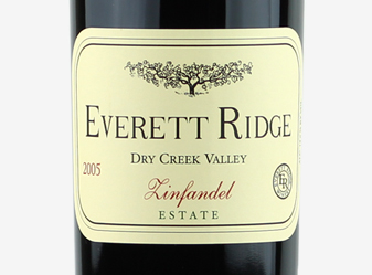 2005 Everett Ridge Estate Zinfandel