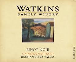 2013 Watkins Family Pinot Noir