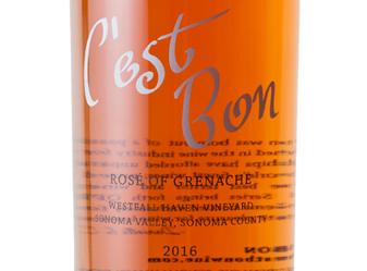 2016 C'est Bon Rosé of Grenache