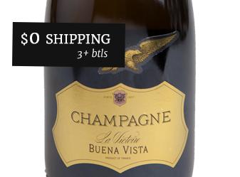 Buena Vista 'La Victoirie' Champagne