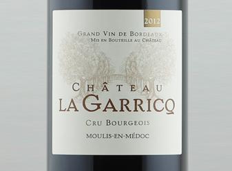2012 Château Garricq Moulis-en-Médoc