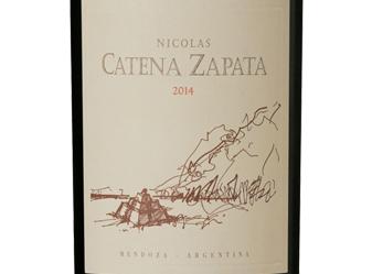 2014 Nicolas Catena Zapata Cab/Malbec