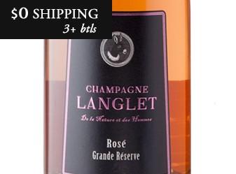 Champagne Langlet Rosé Grande Reserve