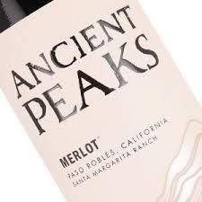 2016 Ancient Peaks Merlot