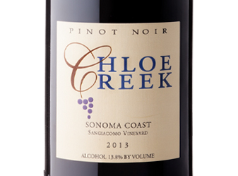 2013 Chloe Creek Pinot Noir