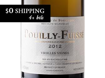 2012 Domaine Auvigue Pouilly-Fuissé