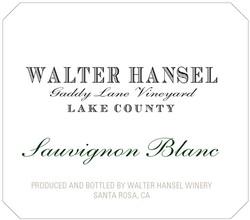 2017 Walter Hansel Sauvignon Blanc