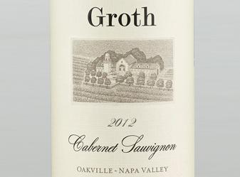 2012 Groth Cabernet Sauvignon