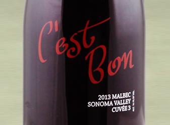 2013 C'est Bon Cuvée 3 Malbec