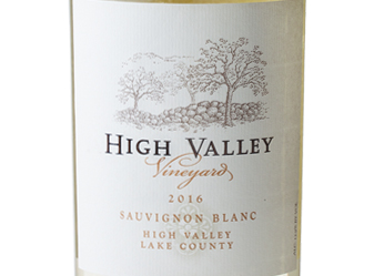 2016 High Valley Sauvignon Blanc