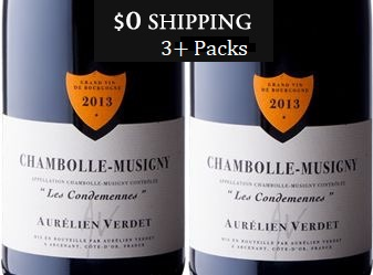 2013 Verdet Chambolle-Musigny Duo