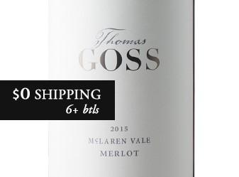 2015 Thomas Goss Merlot