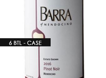 2016 Barra Pinot Noir ½ Case