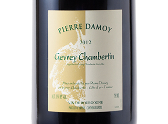 2012 Pierre Damoy Gevrey-Chambertin